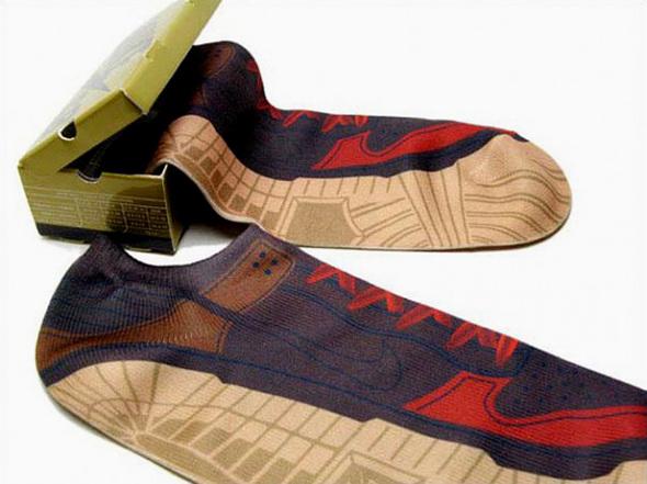 Носки-кроссовки отNike. Изображение № 1.