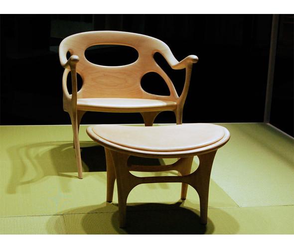 «K-chair» и «K-plus» - сочетание современной формы и ручной работы от голландского дизайнера Хелле Дамкьяер. Изображение № 4.