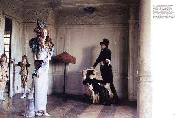 Архивная съёмка: Лили Коул для британского Vogue, 2004. Изображение № 7.