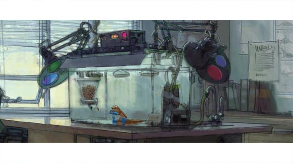 Pixar выпустили арт к отмененному мультфильму. Изображение № 21.