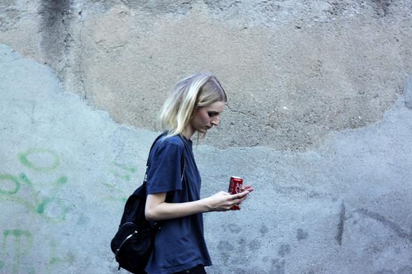 Milan Fashion Week: Модели после показов. Изображение № 5.