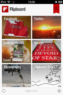 Flipboard: Your own social magazine. Изображение № 4.