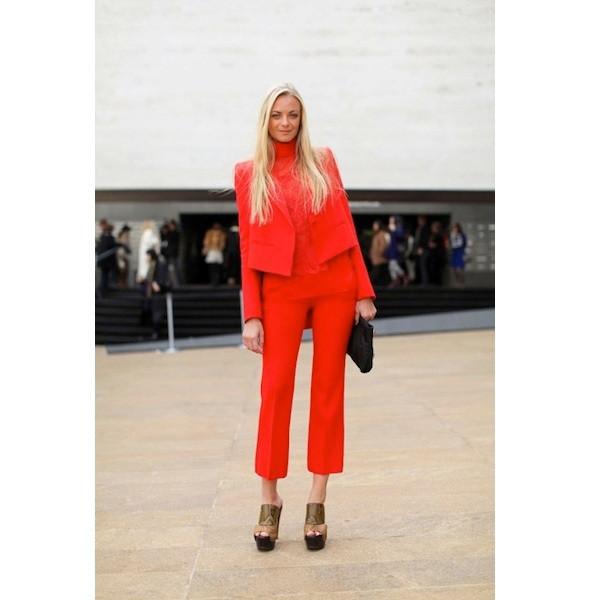Изображение 50. На полях: 10 тенденций уличного стиля с прошедших недель моды.. Изображение № 50.
