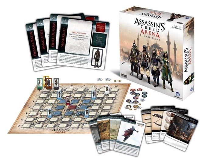 Assassin's Creed станет настольной игрой. Изображение № 1.