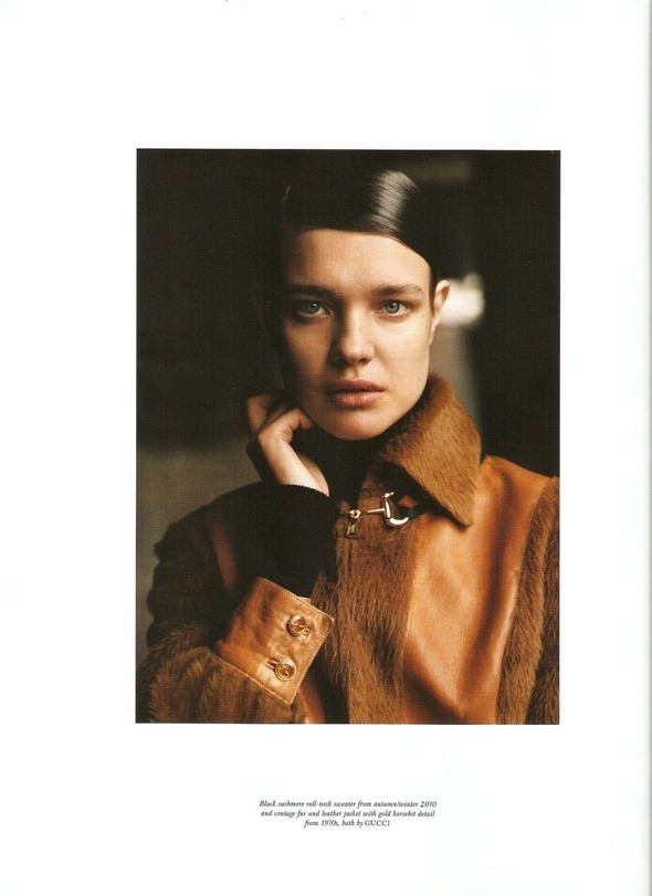 Съёмка: Наталья Водянова в Gucci для Love. Изображение № 7.