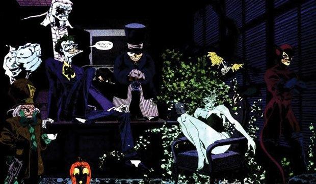 бэтмен долгий хэллоуин смотреть