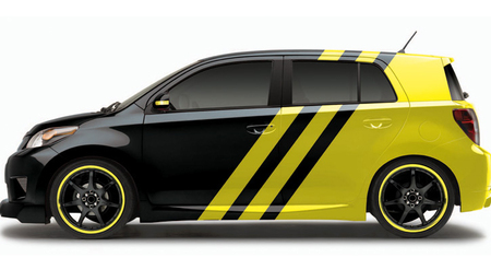 Scionбюджетный вариант дизайнерских авто избудущего. Изображение № 9.