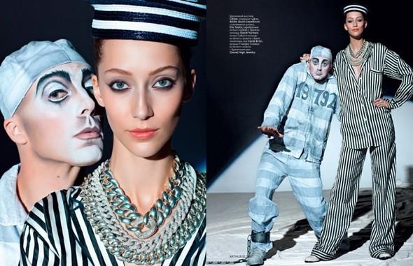Circus, Circus! в январьском номере Vogue Russia. Изображение № 6.