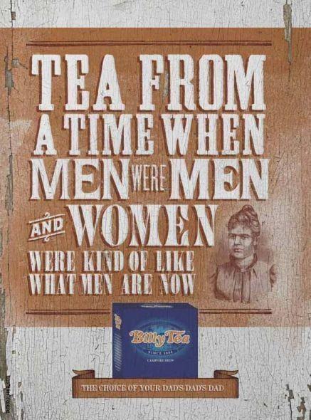 Чай из тех времен, когда мужчины были мужчинами, а женщины были такими, какие мужчины сейчас. Изображение № 13.