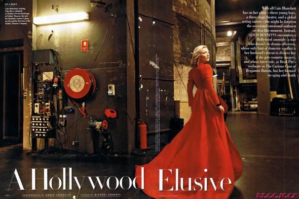Кейт Бланшетт вжурнале Vanity Fair. Изображение № 3.