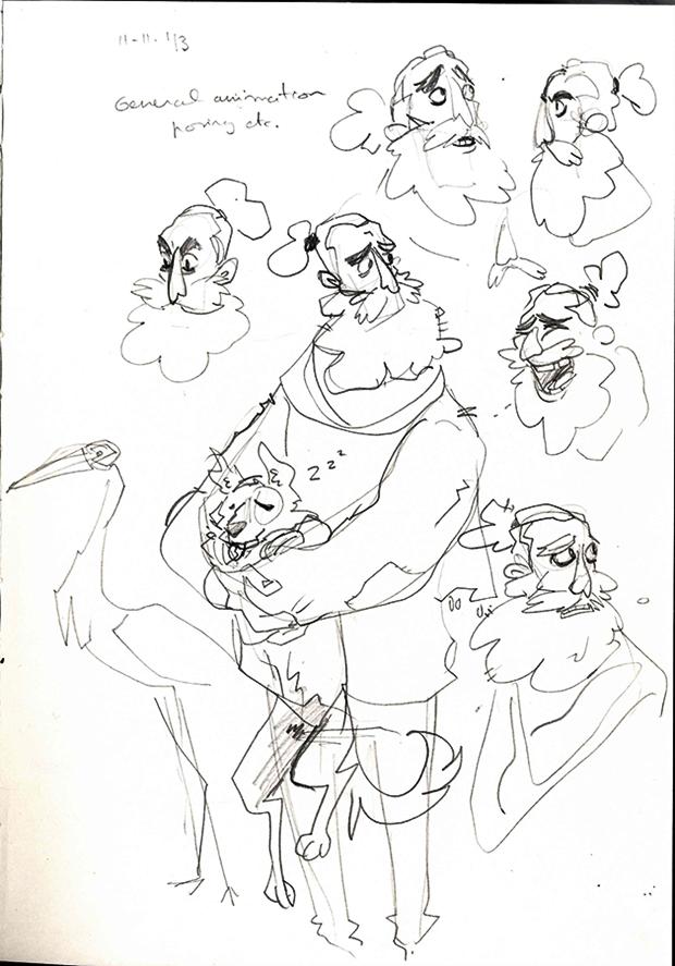 Анимация: бродяга спасает пса встимпанковском городе. Изображение № 9.