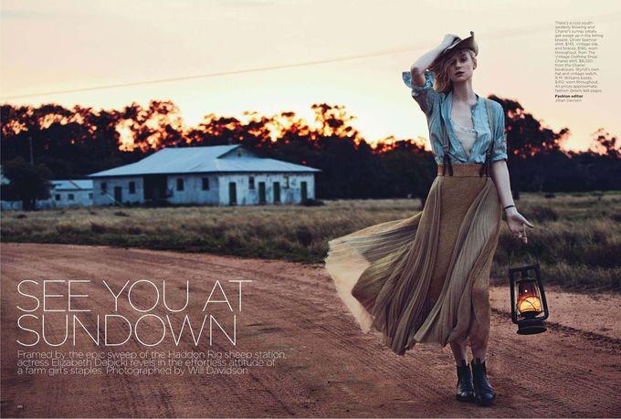 Dazed & Confused, Fat, Vogue и другие журналы выпустили новые съемки. Изображение № 32.