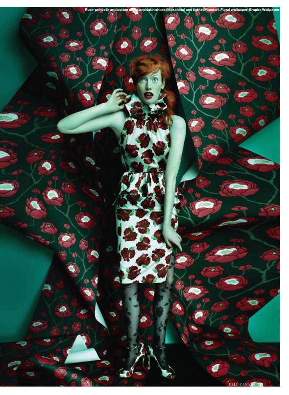 Съёмка: Шанталь Стаффор-Аббот для Elle. Изображение № 4.