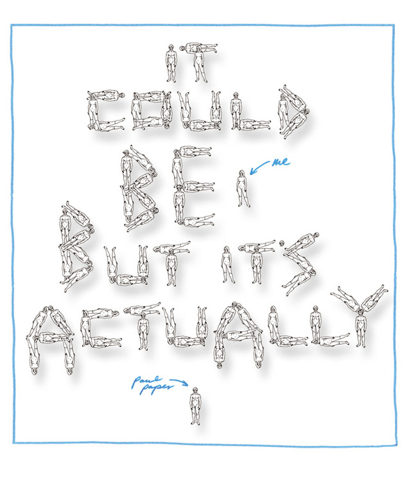 Itcould beme butit's actually Paul Paper. Изображение № 8.