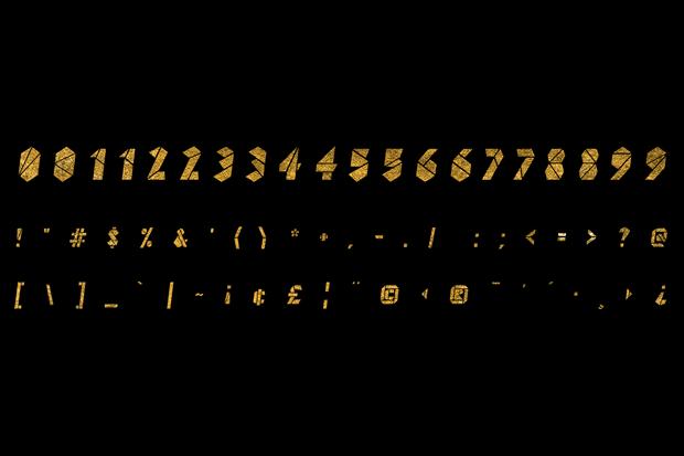 Дизайнер создал вдохновлённый Канье Уэстом шрифт . Изображение № 2.