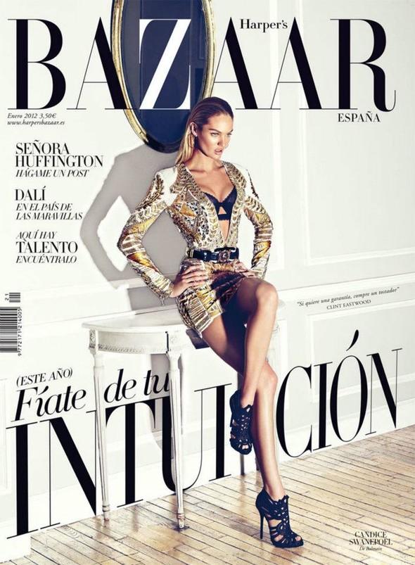Обложки: Elle, Harper's Bazaar и Sure. Изображение № 2.