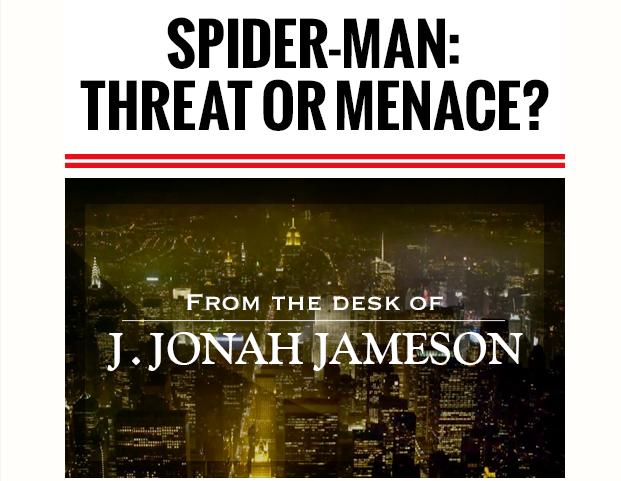 Редактор газеты из вселенной Человека-паука написал колонку. Изображение № 1.