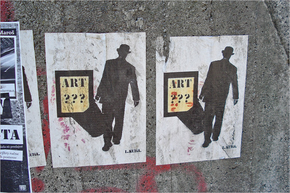 Стрит-арт и граффити Братиславы, Словакия. Изображение № 30.