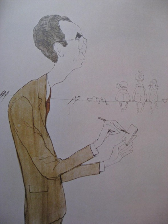 Леонид Сойфертис. рисунок, карикатура. Изображение № 2.