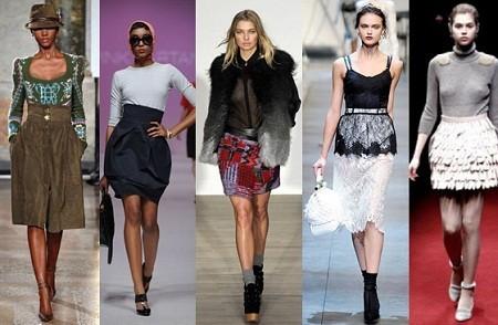 Модные юбки весна-лето 2012. Изображение № 1.