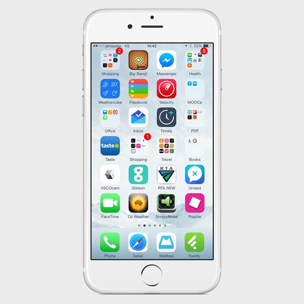 Экран моего смартфона: UX-архитектор Анна Заболотная. Изображение № 2.
