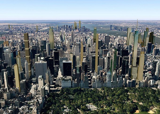 Концепт: как будет выглядеть Манхэттен в 2018 году. Изображение № 4.