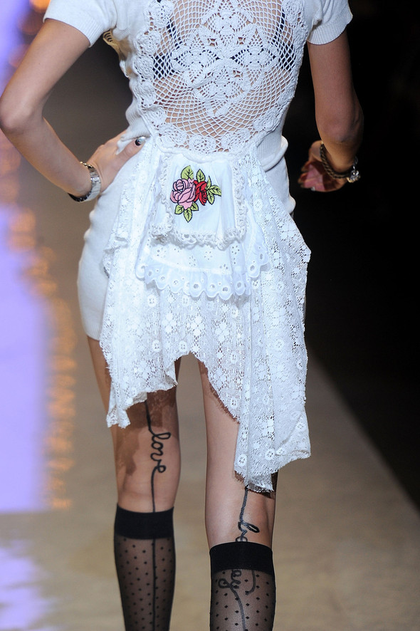 New York Fashion Week: Betsey Johnson Spring 2012. Изображение № 38.