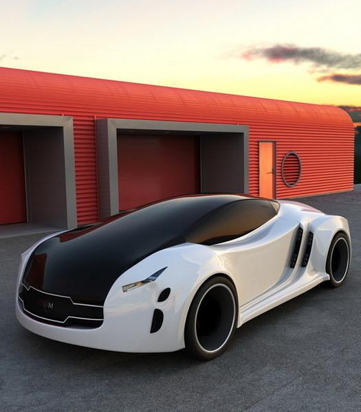 Astrum Meera - проект очень красивого автомобиля со многочисленными нововведениями. Изображение № 10.