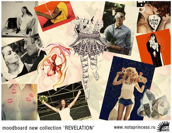 moodboard новой коллекции NOT A PRINCESS. Изображение № 1.