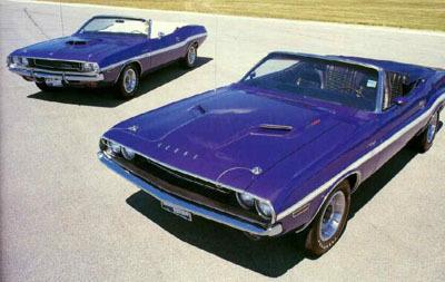 Dodge Challenger 1970–1974. Изображение № 1.