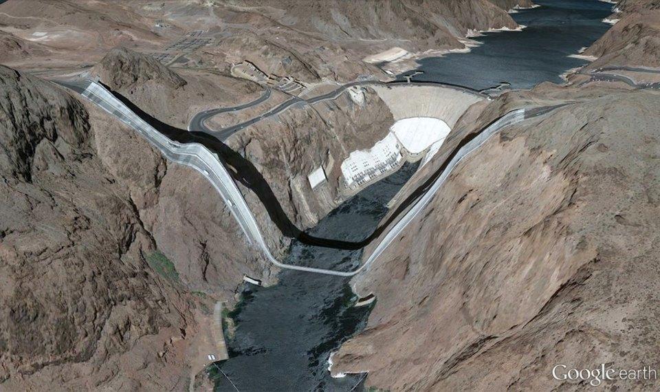 32 фотографии из Google Earth, противоречащие здравому смыслу. Изображение № 6.