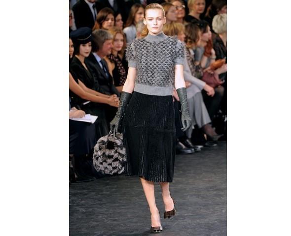 Можно все: Модели на показе Louis Vuitton. Изображение № 26.