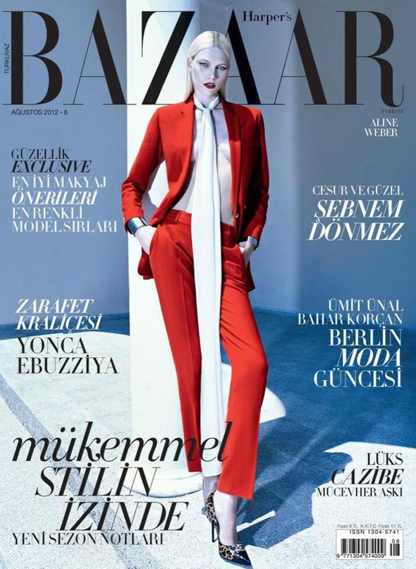 Обложки: Harper's Bazaar, Numero, Vogue и другие. Изображение № 4.