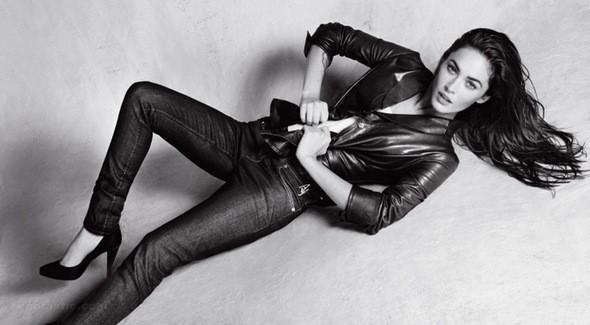 Изображение 4. Megan Fox в рекламной компании Emporio Armani.. Изображение № 4.