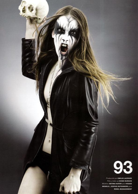 Блек-металлические барби, D-Mode, май'08. Изображение № 6.