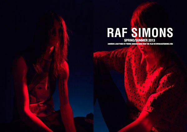 Показана новая кампания Raf Simons. Изображение № 2.