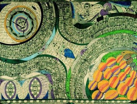 Аутсайдерское искусство: Аутист, раб, почтальон и другие неожиданно великие художники. Изображение № 4.
