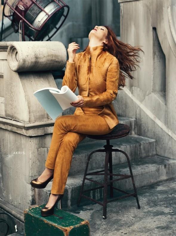 Кампания: Дрю Бэрримор для Neiman Marcus 2011. Изображение № 4.