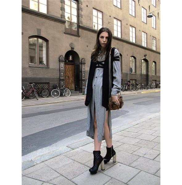 Луки с недель моды в Копенгагене и Стокгольме. Изображение № 34.