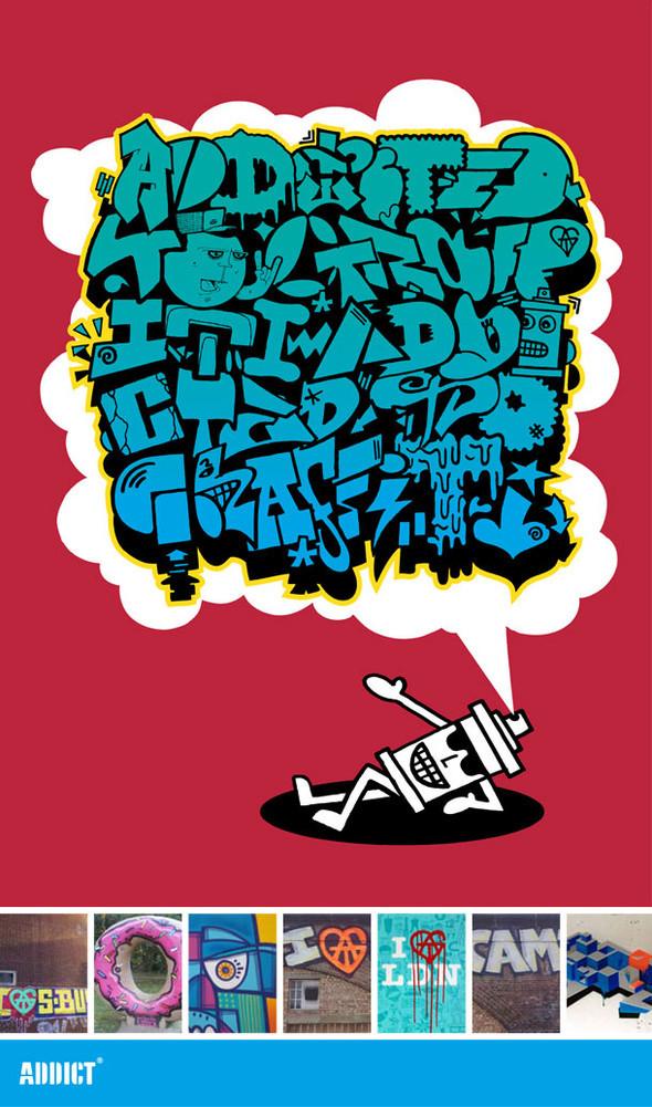 Арт серии футболок Addict. Изображение № 18.