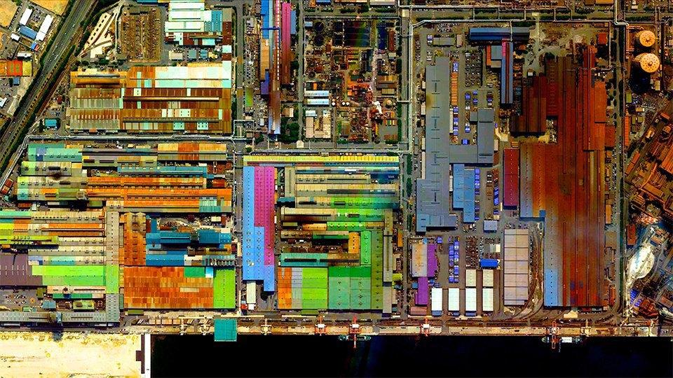 Снимки из космоса, напоминающие о хрупкости природы. Изображение № 4.
