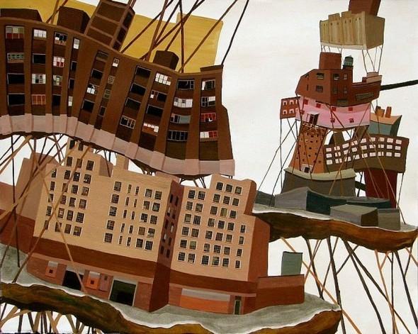 Города сточки зрения иллюстратора ЭмиКэйси. Изображение № 4.