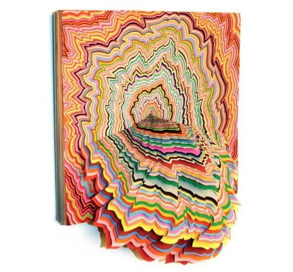 Абстракция из цветной бумаги. Изображение № 15.