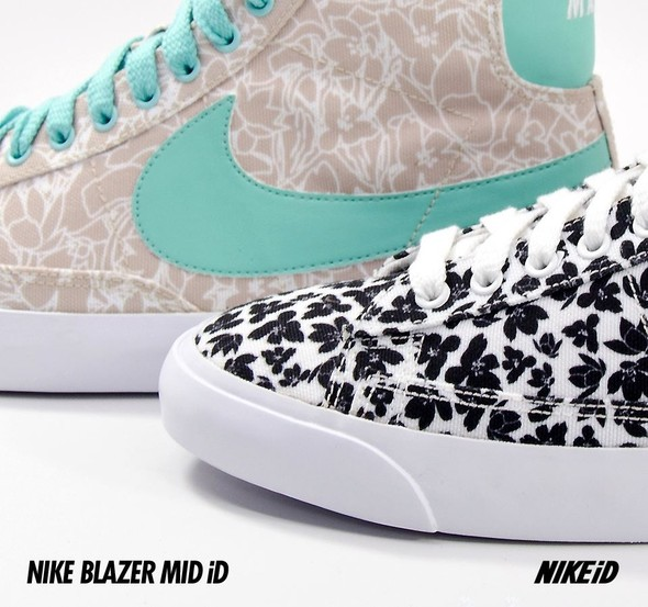 Nike X Liberty Summer Collection/  Blazer Mid iD.. Изображение № 14.
