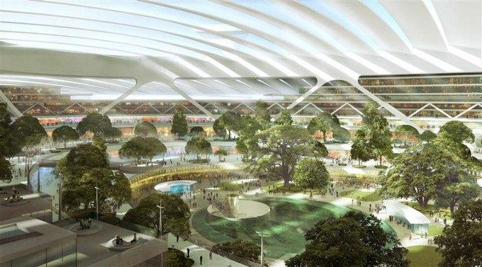 Аэропорт Лондона могут построить в устье Темзы. Изображение № 4.