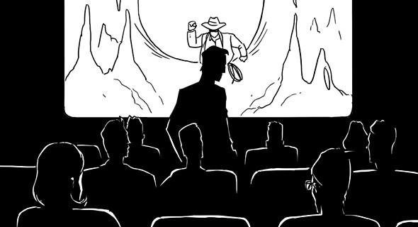 Изображение 8. Как вести себя в кино: Десять правил хорошего тона.. Изображение № 1.