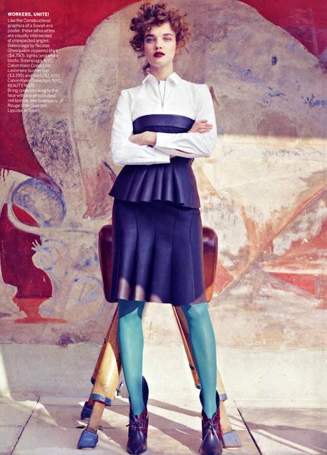 Новые съемки: Vogue, Nylon и другие. Изображение № 16.