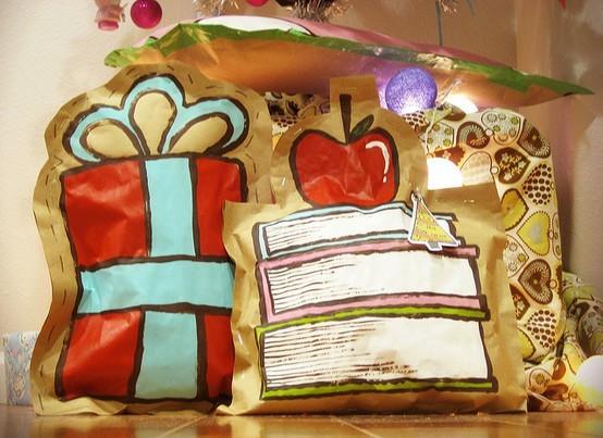 55 идей для упаковки новогодних подарков. Изображение №136.
