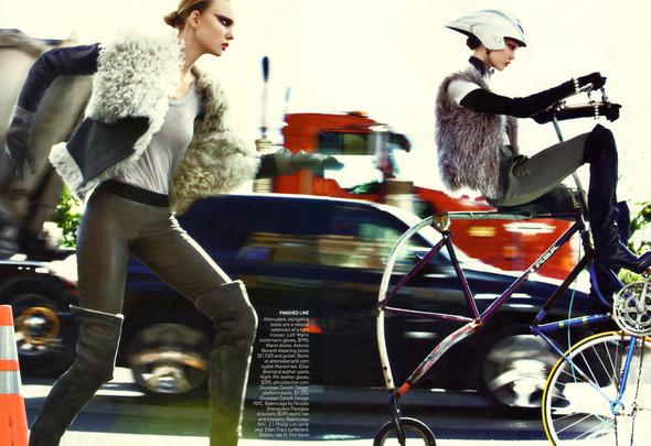 Быстрее, выше, сильнее: Модные съемки, вдохновленные спортом. Изображение №33.
