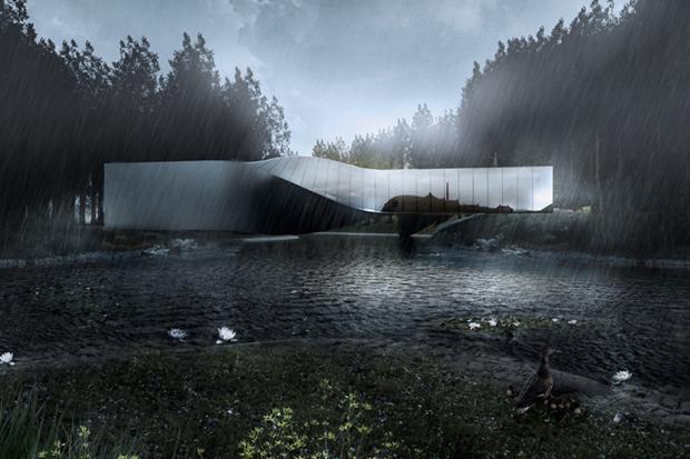 Архитектура дня: «перекрученный» музей авторства BIG под Осло. Изображение № 2.